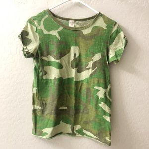 We The Free Free People Camo T-Shirt